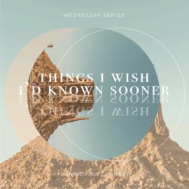 TPC - CD 02(J049) - Things I Wish I'd Known Sooner - Part 2 CD WED