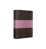 Bible ESV Study Bible Standard Size TruTone Chocolate / Rose Trail Design