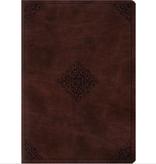 Bible ESV Study Bible Standard Size TruTone Mahogany Ornament Design