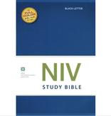 Bible NIV Study Bible Standard HardBack Blue