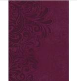 Bible NKJV Study Bible Standard Size LeatherSoft Cranberry