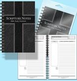 Bible Bible Study Notebook -  Black