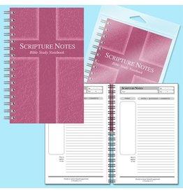 Bible Bible Study Notebook - Rose