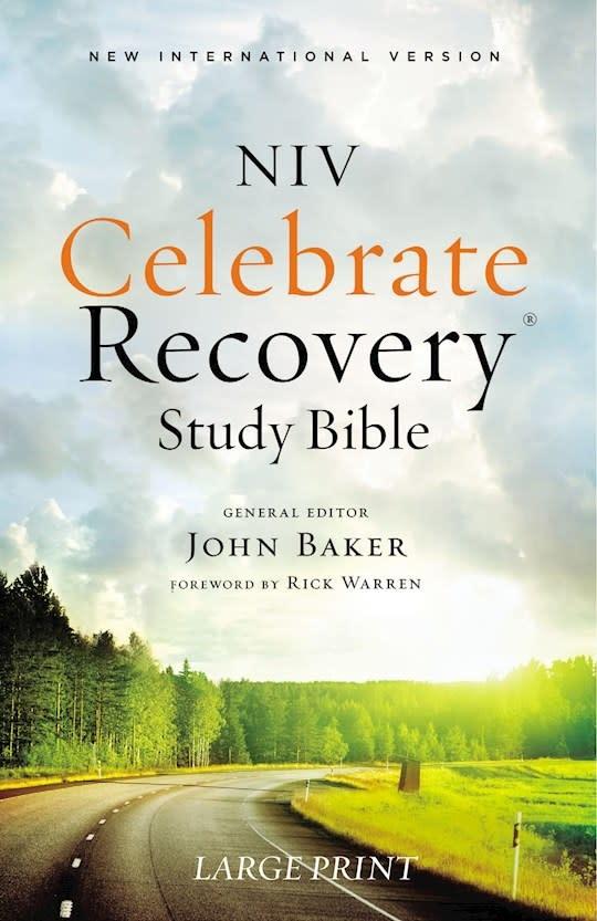 Bible NIV Celebrate Recovery Bible Large Print