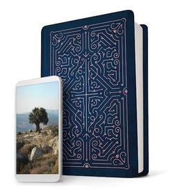 Bible NLT - Filament Bible - Blue Leatherlike