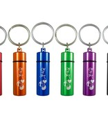 Swanson Christian Supply Anointing Oil - Oil of Joy Key Chain - 2 3/8in - Assorted Color single
