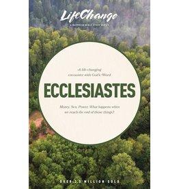 Books Ecclesiastes (LifeChange)