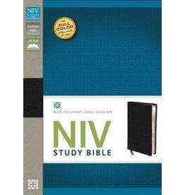 Bible NIV Study Bible Standard Top Grain Leather Black