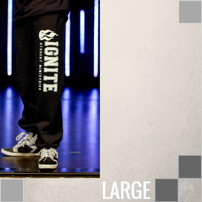 Ignite Student Ministry Sweatpants-3