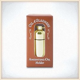 Oil Holder - Gold Tone Boxed
