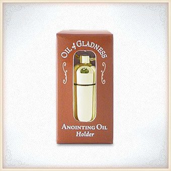 Gold Tone Boxed Oil Holder
