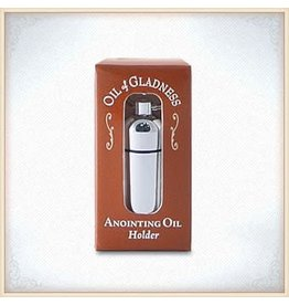 Silver Tone Boxed Oil Holder