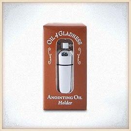 Oil Holder - Silver tone Boxed