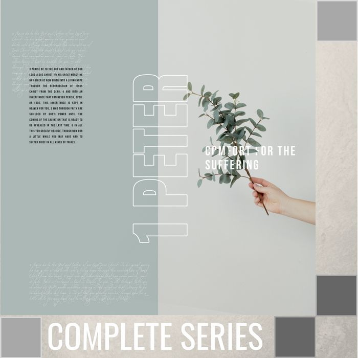 00 - 1 Peter - Comfort For The Suffering - Complete Series -  By Pastor Jeff Wickwire | LT03122-1