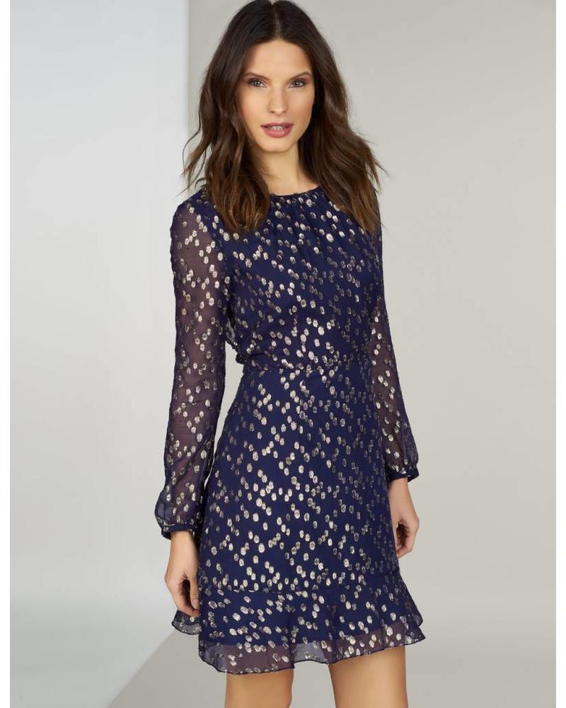 Hutch Shea - Ruffle Chiffon Dress