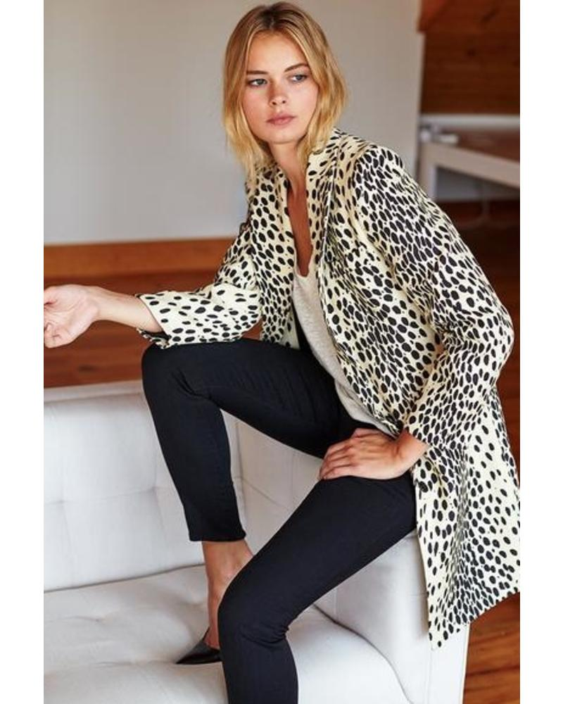 Emerson Fry Wingtip Leopard Jacket