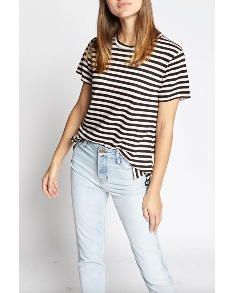 Sanctuary Sutter Stripe Linen Tee