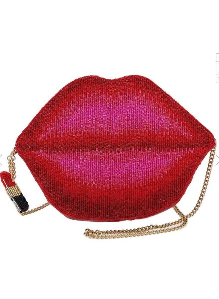 Mary Frances Pucker Up Handbag