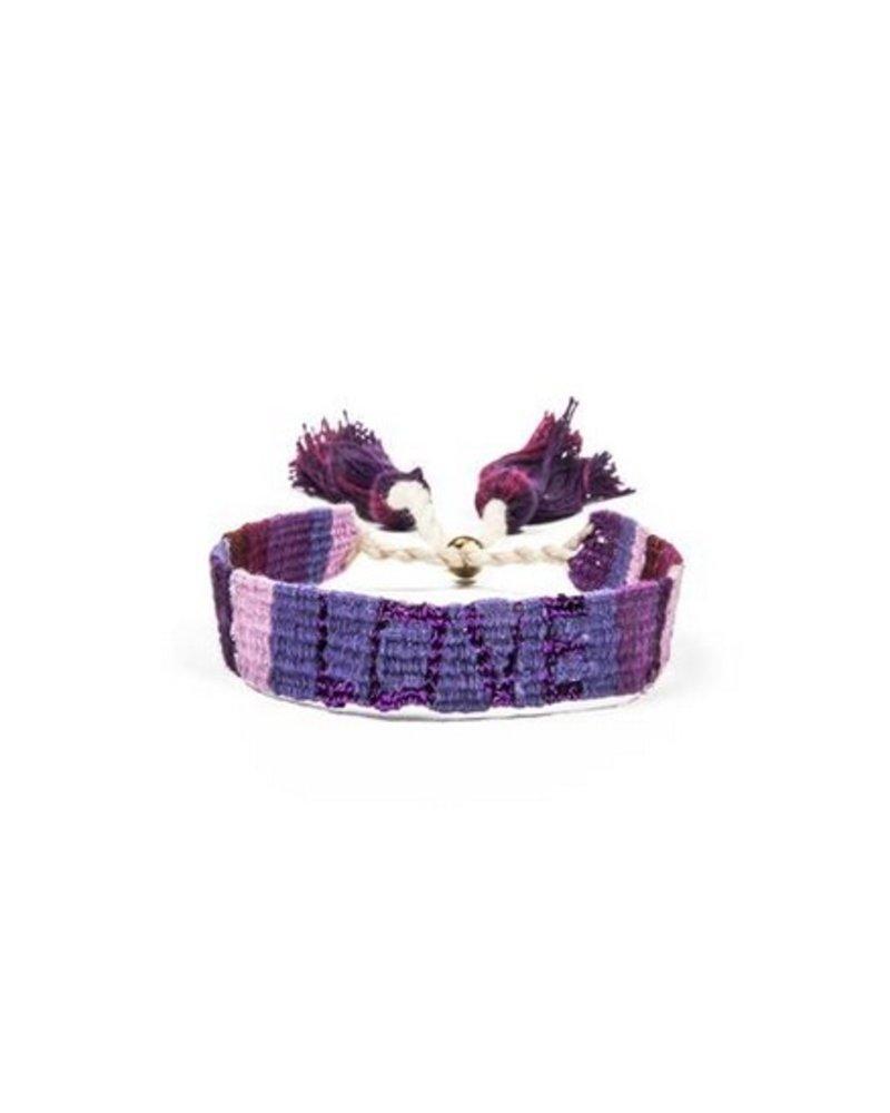 Love is Project Atitlan LOVE Bracelet