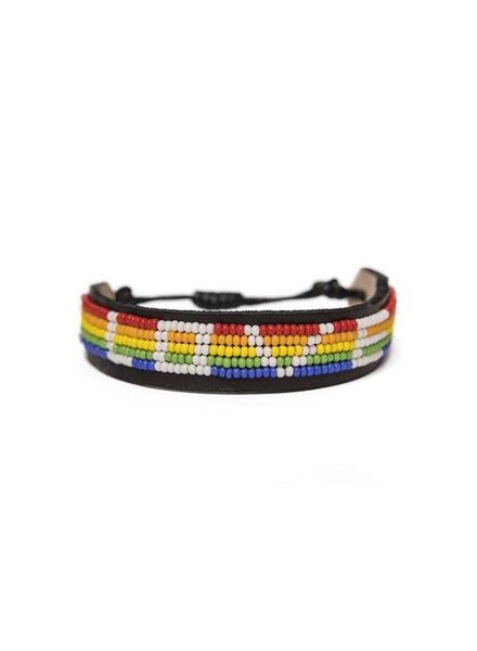 Love is Project Rainbow LOVE Bracelet