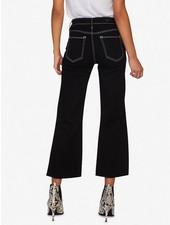 Sanctuary Non-Conformist Contrast Stitch Wide Leg Cropped Jean