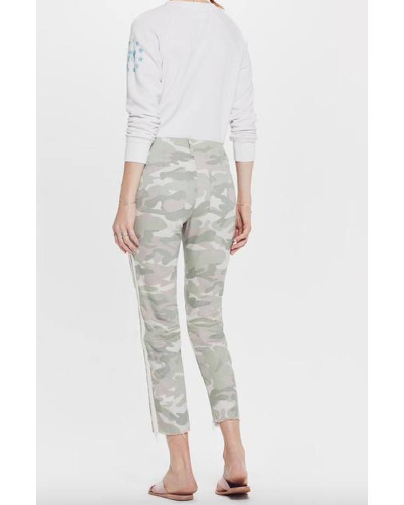 Mother The Shaker Chop Crop Fray Pant