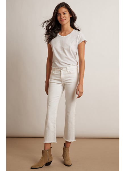 Velvet by Graham and Spencer Twiggy High Rise Crop Jean