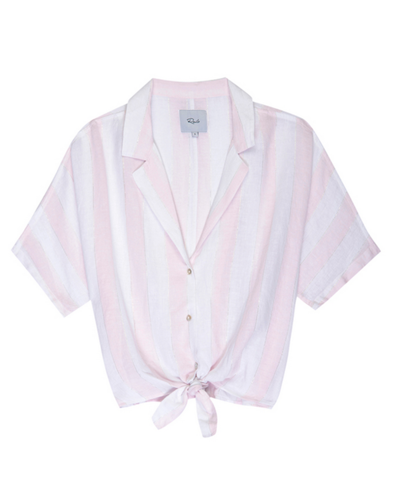 Rails Marley Tie Front Blouse