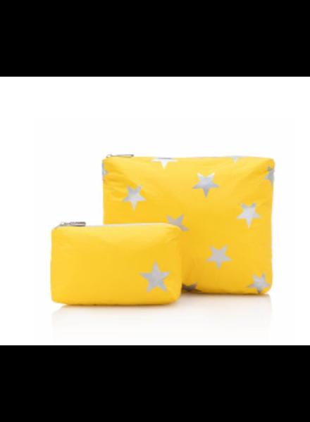Hi Love Travel Set of Two Packs Aspen Gold w/ Stars