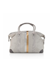 Hi Love Travel The Weekender Grey w/ Metallic Lines