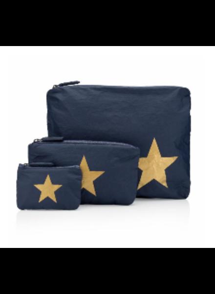 Hi Love Travel Navy 3-Pack w/ Gold Star