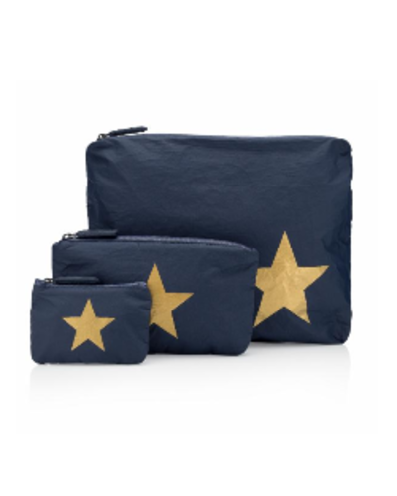 Hi Love Travel Navy 3-Pack w/ Gold Star