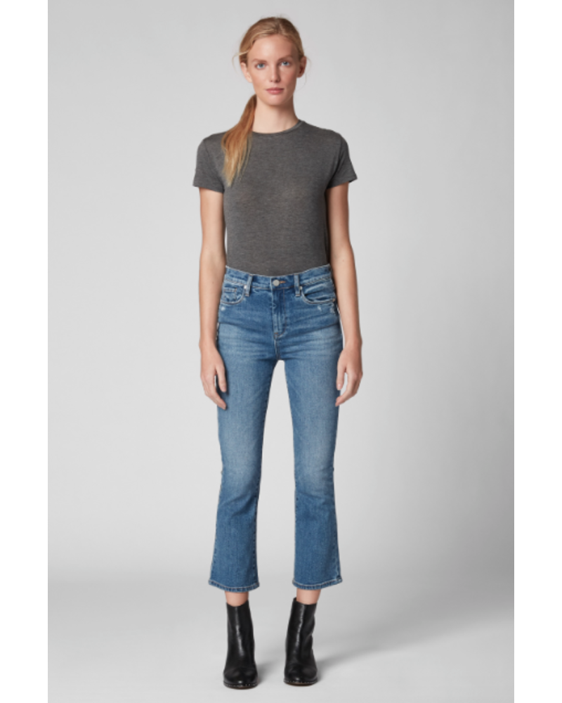BlankNYC Dance Off Crop Flare Jean