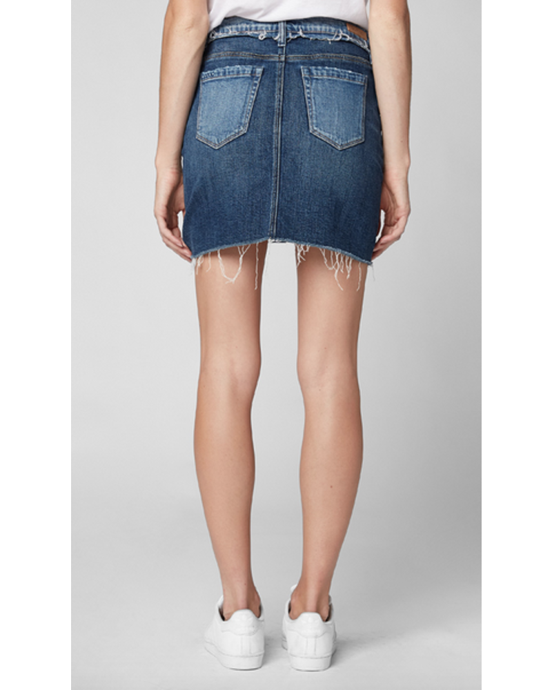 BlankNYC Two Faced Denim Skirt