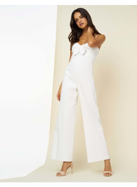 Hutch Savannah Tie Front Princess Seam Jumpsuit