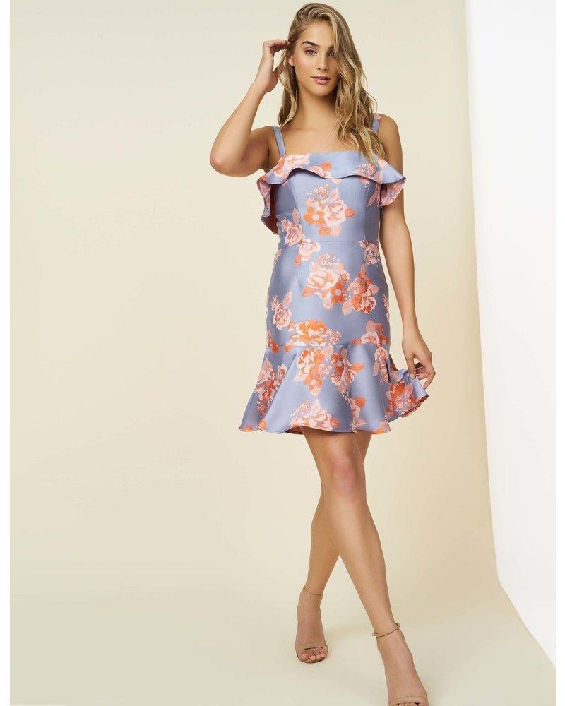 Hutch Mara Floral Ruffle Dress