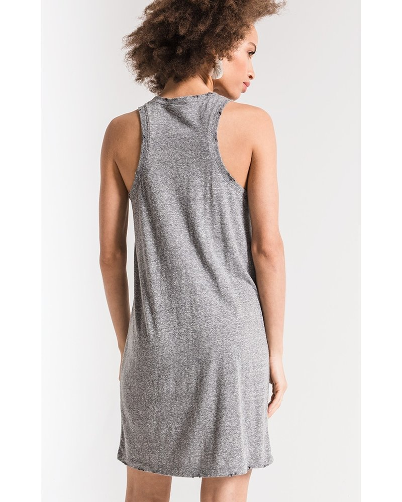 Z Supply The Triblend Muscle Dress-M