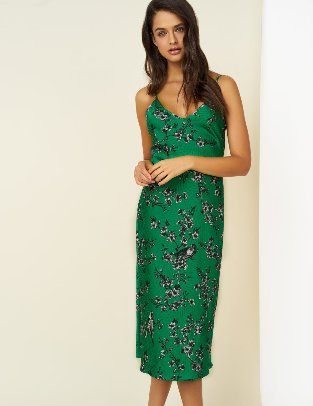 254f90a3db20 Sierra Bias Cut Slip Dress - No. 109