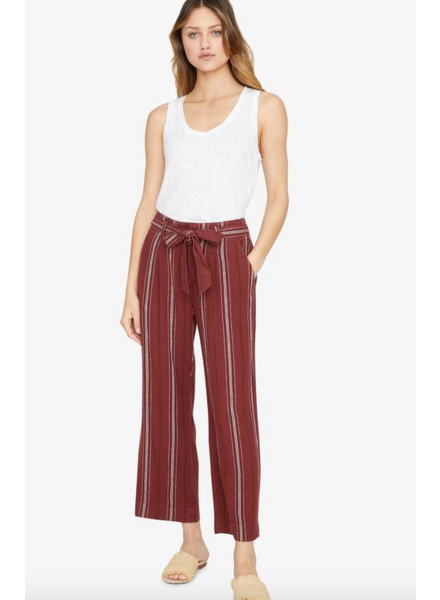 Sanctuary Inland Sashed Cropped Pant
