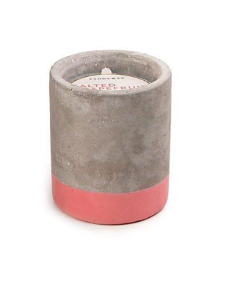 Paddywax Concrete Pot Candle