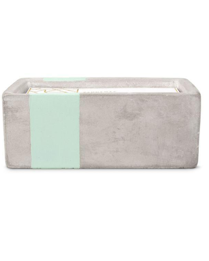 Paddywax Concrete Rectangle Candle 8 oz