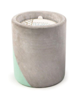 Paddywax Concrete Pot 12 oz Candle Sea Salt + Sage