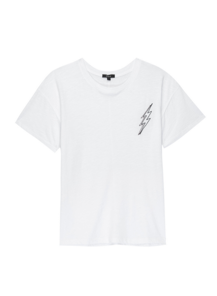 Rails Davie White Lightning T-Shirt