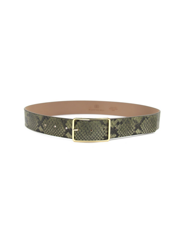B-low the Belt Milla Python Belt