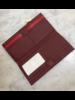 hammitt Red Python Wallet