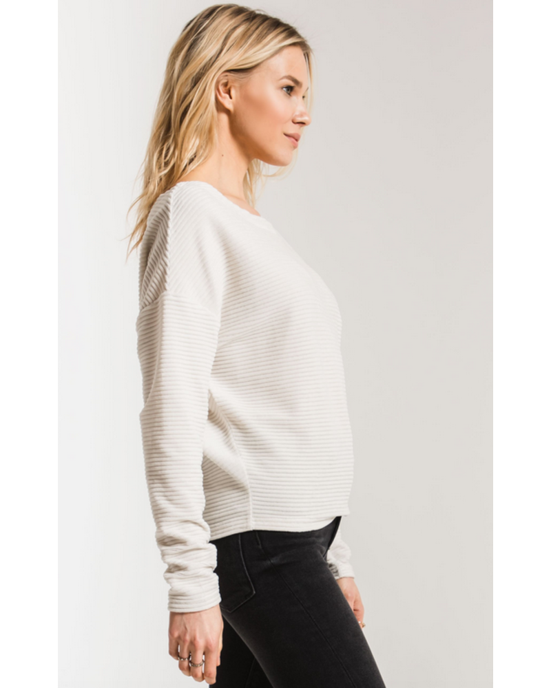 Z Supply Wide Wale Cord Boat Neck