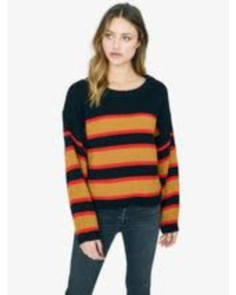 Sanctuary Ezra Striped Sweater