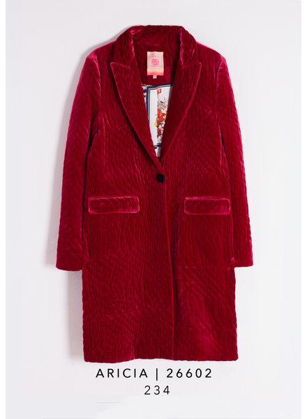 Vilagallo Aricia Velvet Coat