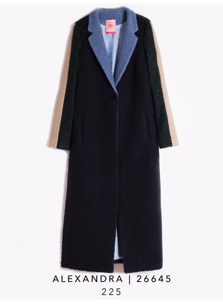 Vilagallo Alexandra Colorblock Coat