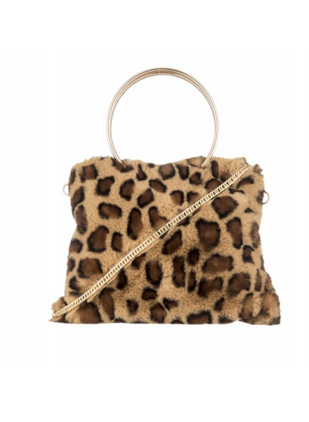 Alessia Massimo Alessia Shape Fur Bag
